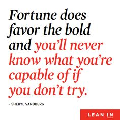 Sheryl Sandberg's new book, Lean In, is out and to further her movement she's partnered with an amazing group of women to launch a global community committed to offering women the encouragement and support to lean in to their ambitions. In the Lean In...