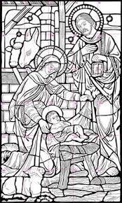 Risultati Immagini Per Nativity Scene Filigran Holiday DecorStained Glass TemplateStained