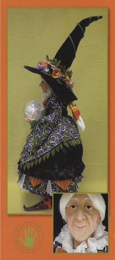 fortuna witch doll figure  krinhles by patience brewster from fiddlestickdalls dot com