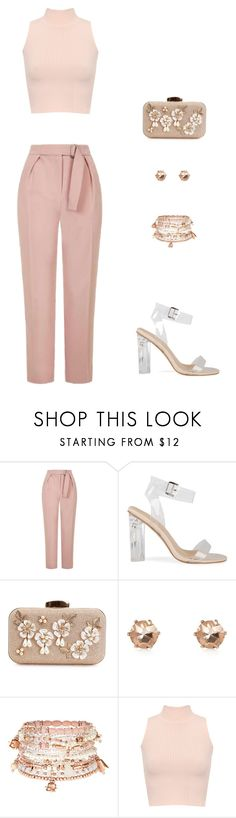 """""""pretty in pink"""" by kduffy-1 on Polyvore featuring Topshop, Accessorize and WearAll"""