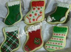 Christmas Stocking cookies   Flickr - Photo Sharing!