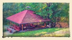 Tutaj się działo! #zjazdSocjomaniakow Gazebo, Outdoor Structures, Cabin, House Styles, Home Decor, Kiosk, Decoration Home, Room Decor, Pavilion