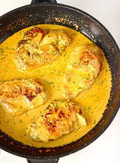 Makaron penne z kurczakiem w kremowym sosie cytrynowo-miodowym | Słodkie Gotowanie