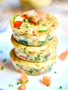 Healthy Egg Muffin Cups via @showmetheyummy