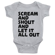 Hey, I found this really awesome Etsy listing at https://www.etsy.com/listing/550714531/scream-and-shout-let-it-all-out-funny