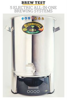 Electric All-In-One Brewing Systems