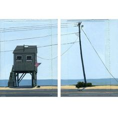 on Stilts limited edition giclee prints diptych on by leahgiberson, $35.00