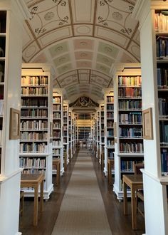 Beautiful Library, Dream Library, Book Aesthetic, Aesthetic Pictures, Cream Aesthetic, Walpapper Vintage, Oxford Library, College Aesthetic, Dream School