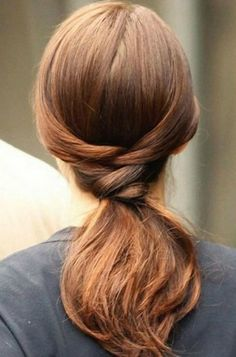 Dress up a basic ponytail with intricate twists & lovely waves