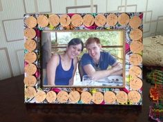 Dia dos pais: porta retrato!