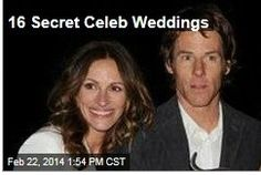 Latest News:  16 Secret Celeb Weddings.  The latest celebrity couple to get married in secret? Leighton Meester and Adam Brody (aka Blair Waldorf from Gossip Girl and Seth Cohen from The OC). PopSugar rounds up quite a few more stars whose weddings surprised us.  Get all the latest news on your favorite celebs at www.CelebrityDazzle.com!