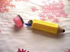 #naturadmc  crochet pencil case #inspiration