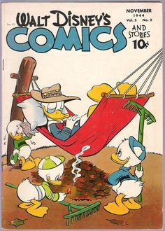 A cover gallery for the comic book Walt Disney's Comics and Stories Walt Disney, Disney Duck, Disney Art, Evil Disney, Vintage Comic Books, Vintage Cartoon, Vintage Comics, Vintage Disney, Retro Vintage