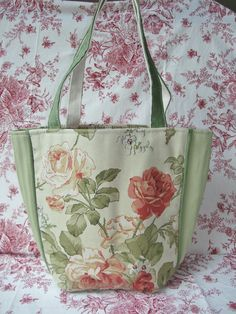 French Country Market Tote Premium European Artisan Crafted Handbag Shabby Chic #ArankaDesign #TotesShoppers