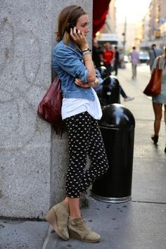 Like the thrown together yet stylish look.