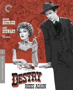 Destry Rides Again 1939 Dvd Criterion Marlene Dietrich, Movie List, Movie Tv, The Criterion Collection, Actor James, Picture Movie, Oral History, Top Videos, Universal Pictures