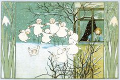 'Snow Children' -  by Lulu at Home