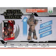 ¿Quién no quiere tener a un Wookie en su cuarto? Y si además este Wookie es una figura de Chewbacca de gran tamaño, con movimiento y espectaculares efectos de luz y sonido, de lo único que tendrás que preocuparte es de no ganarle al ajedrez holográfico.     Figura de acción interactiva de Star Wars de Chewbacca, episodio VII.