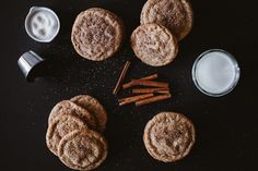 Chewy chai snickerdoodles, with perfectly crispy exteriors and wonderfully chewy interiors, all coated in cinnamon-sugar.
