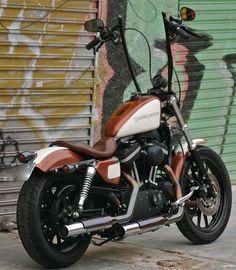 Harley Davidson Sportster Choppers | Harley-Davidson Sportster Guma 76 « Red Choppers Bike & Parts #harleydavidsonsportsternightster
