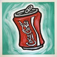 Bilderesultat for cola pop art
