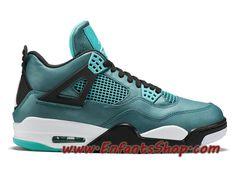 Air Jordan 4 IV Retro Chaussures Nike Basket Pas Cher Pour Homme Vert Noir 705331-330 Jordan 4, Jordans Sneakers, Air Jordans, Basket Pas Cher, Baskets, Nike Air, Shoes, Fashion, Green Man