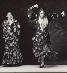 La Repompa and Raquel Heredia her daughter     Gilles Larrain Studio 1996