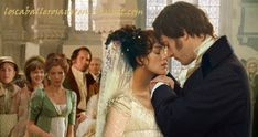 Wish they had included the wedding of Mr and Mrs Darcy in the movie, oh well at least we have pictures