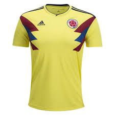 Image result for 2018 colombia world cup jersey