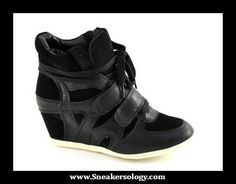 81ffd730230 That One Thing  Isabel Marant Inspired Hidden Wedge Sneakers