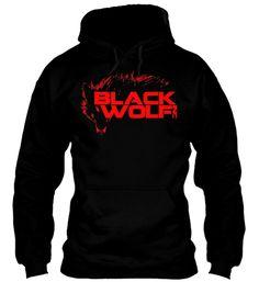 BlackWolf_Inc Red Wolf Logo