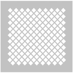 Fabscraps 8 x 8 Diamond 2 Stencil - DS 008 Stencil Templates, Stencils, Art Drawing Images, Drawings, Silhouette Design, Silhouette Cameo, Brother Scan And Cut, Diamond Pattern, Svg Cuts