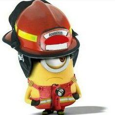- Minion pompier ...