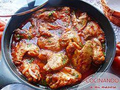 Te explico paso a paso como preparar alitas de pollo en salsa, una receta muy, muy fácil pero realmente deliciosa. ¡Te chuparás los dedos !