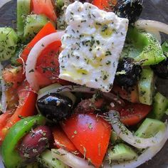 Authentic Greek Salad | Tasty Kitchen: A Happy Recipe Community!
