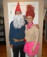 Treasure Troll and Garden Gnome Costumes     tons of Halloween costumes for couples