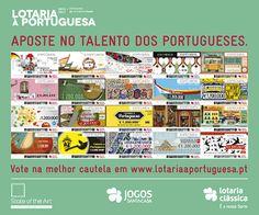 Aposte no talento dos portugueses