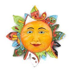 Kirkland's: Ceramic Talavera Sun Plaque