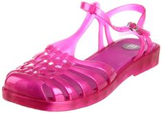 Melissa Aranha Sandal (Pink) i really wish they have these in transparent purple :