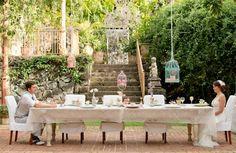 Vintage Garden Wedding Ideas At Haiku Mill - Lover.ly