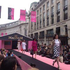 Magnum regent street take over from N2O Brand Activation