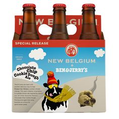We're not big on novelty beers around here. However, one kitschy combination last year worked out surprisingly well: Ben & Jerry's collaboration with New Belgium Brewing on a salted caramel brownie ale. And now the major players are back for a second round of ice cream beer.