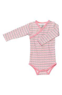 Infant Girl's Petunia Pickle Bottom Organic Cotton Long Sleeve Bodysuit