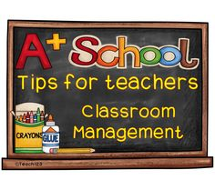 TEACHER TIPS: Classroom Management #Teach123