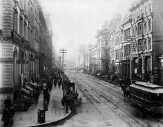 California Street, San Francisco (1854) Isaiah Taber