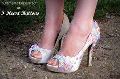 button shoes