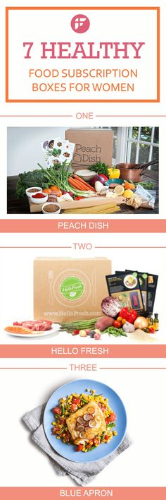 Healthy Food Subscription Boxes for Women: Healthy eating has never been easier. Get healthy and delicious foods with recipes from these amazing home delivery food services.