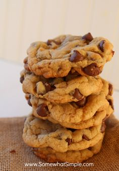 easy chocolate chip cookies 3