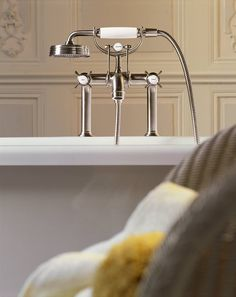 Best Price To Buy Hansgrohe Axor Montreux Rim Mounted Tub Filler W/Cross  Handles 16542001 Online From Our Exotic Home Expo Website.