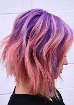 42 Glorious Purple Beach Hair Color Trends for 2018